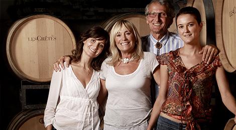 La famiglia Charrère: da sn Elena, Imelda, Costantino ed Eleonora