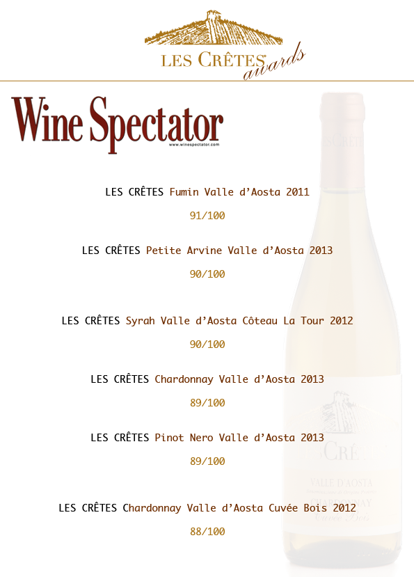 awards wine spectator