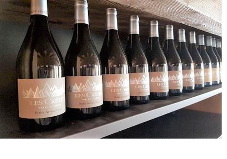 Les Crêtes: White wines