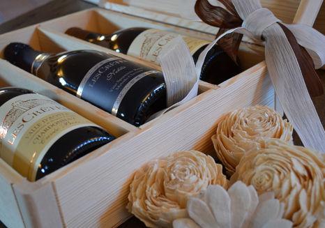 Confezione Regalo Les Crêtes: i vini Les Crêtes sono un dono sempre gradito!
