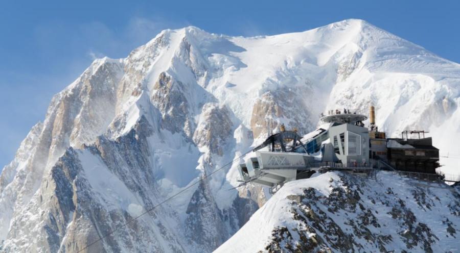 Monte Bianco - Punta Helbronner The Sky