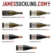 James Suckling recensisce positivamente 7 nostri vini