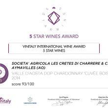 Premio Enologico Internazionale 5 Star Wines