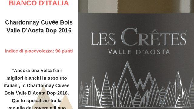 Chardonnay Cuvée Bois 2016 3° MIGLIOR VINO BIANCO D'ITALIA
