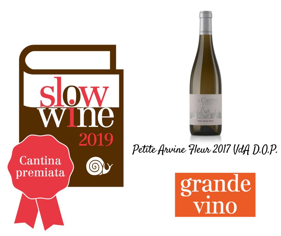 Petite Arvine Fleur 2017 VdA D.O.P. Grande Vino Slow Wine 2019