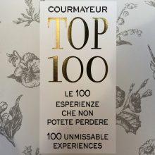 Les Cretes con il suo Rifugio del vino nella TOP 100