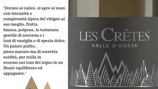 Les Cretes Cuvee Bois 2016 – Migliori Vini d'Italia 2019