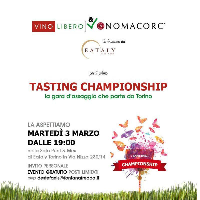 Tasting Championship, Nomacorc E Vino Libero Mettono Alla Prova Consumatori, Sommelier E Giornalisti