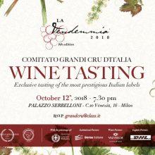GRANDI CRU D'ITALIA WINE TASTING 12.10.2018
