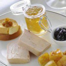 Fois gras con mele renette caramellate e gelatina di Chardonnay
