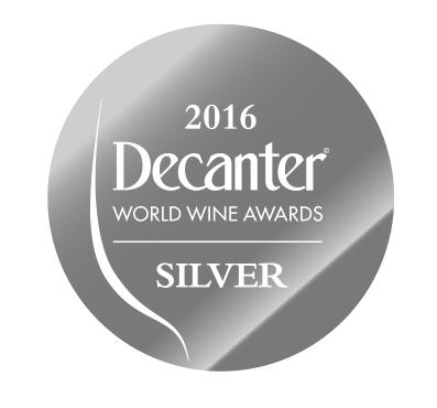 2 medaglie ottenute al Decanter World Wine Awards 2016