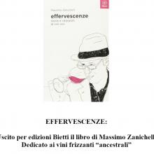 """""""Effervescenze: storie e interpreti di vini vivi"""" di Massimo Zanichelli dedicato ai vini frizzanti """"ancestrali"""""""