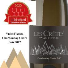 Tre Bicchieri 2020 Chardonnay Cuvée Bois 2017