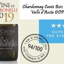 Chardonnay Cuvée Bois 2016 Super Tre Stelle Veronelli 2019