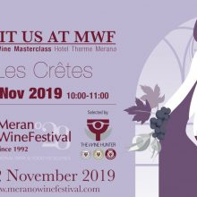 Les Crêtes in trasferta al Merano Wine Festival 2019