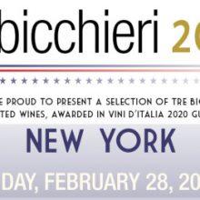 Tre Bicchieri Worldtour USA 2020