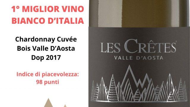 Chardonnay Cuvée Bois 2017 1° Miglior Bianco D'Italia
