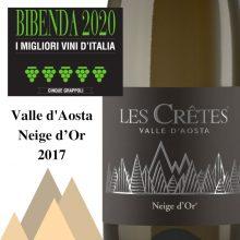 Neige d'Or 2017 5 grappoli Bibenda
