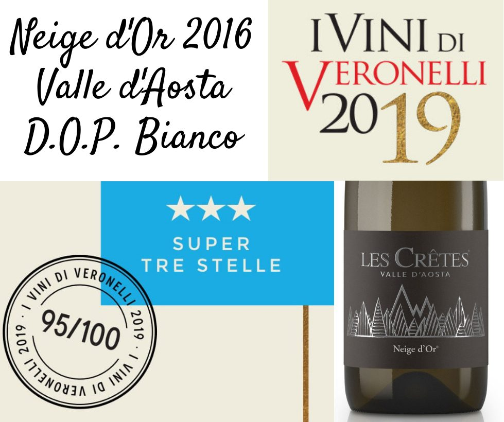 Neige d'Or 2016 Super Tre Stelle Veronelli 2019