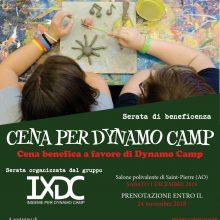 Les Crêtes alla Cena per Dynamo Camp