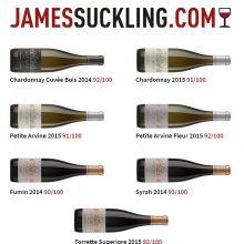 James Suckling recensisce positivamente 7 nostri vini